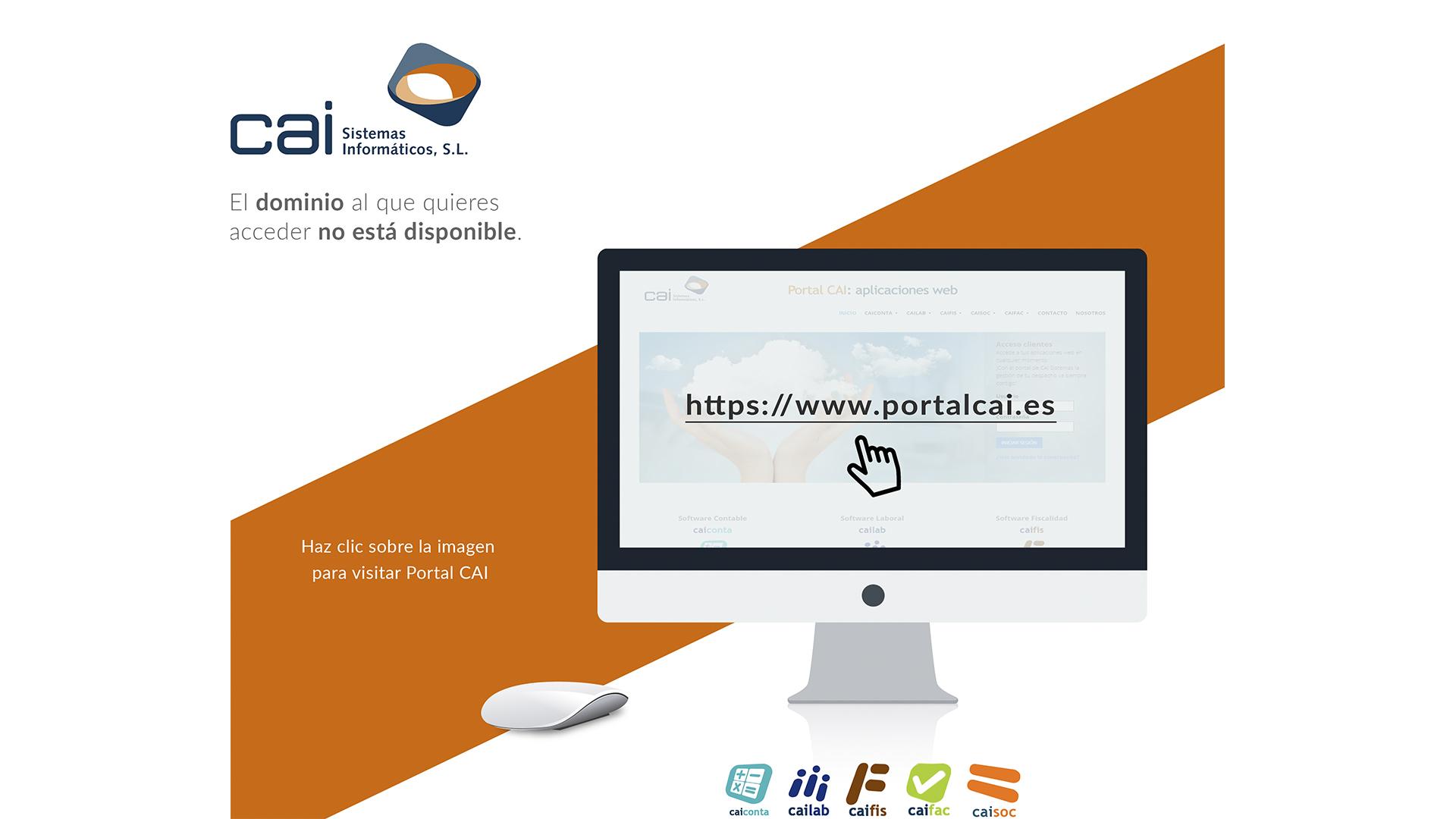 Portal CAI: aplicaciones web - web caisistemas