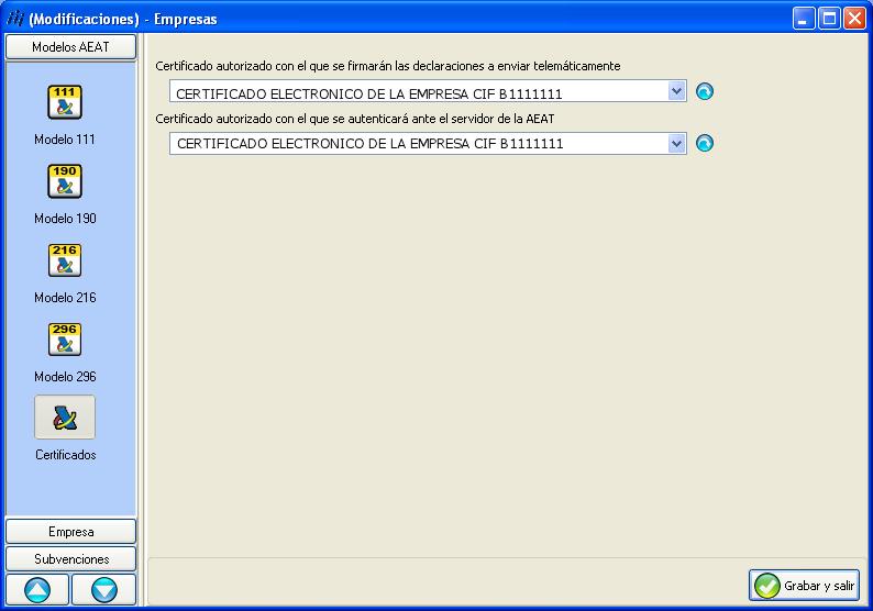 Modelo 111 for Oficina virtual aeat